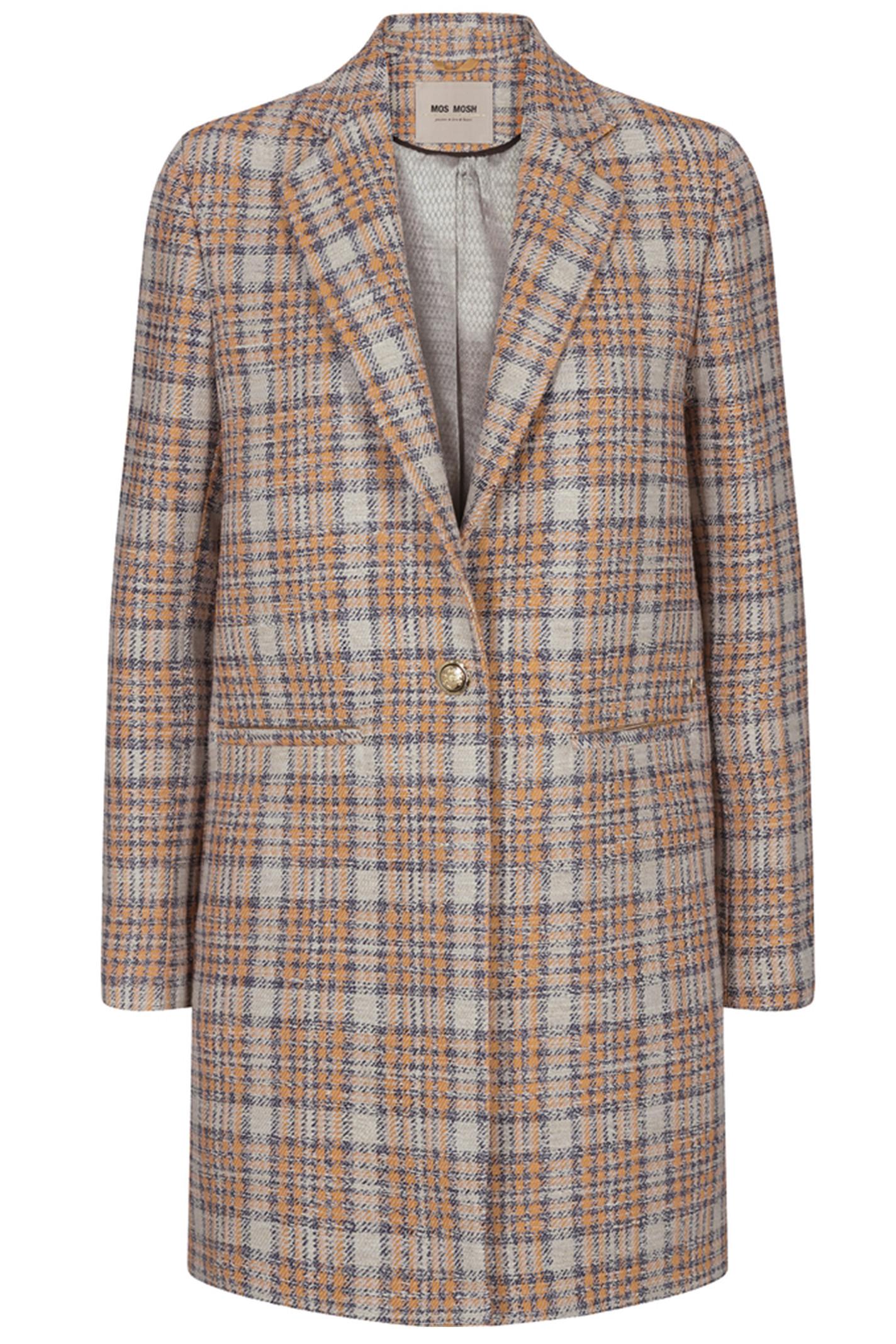 MOS MOSH Christie Mandarin Coat 132610 Mandarin Red