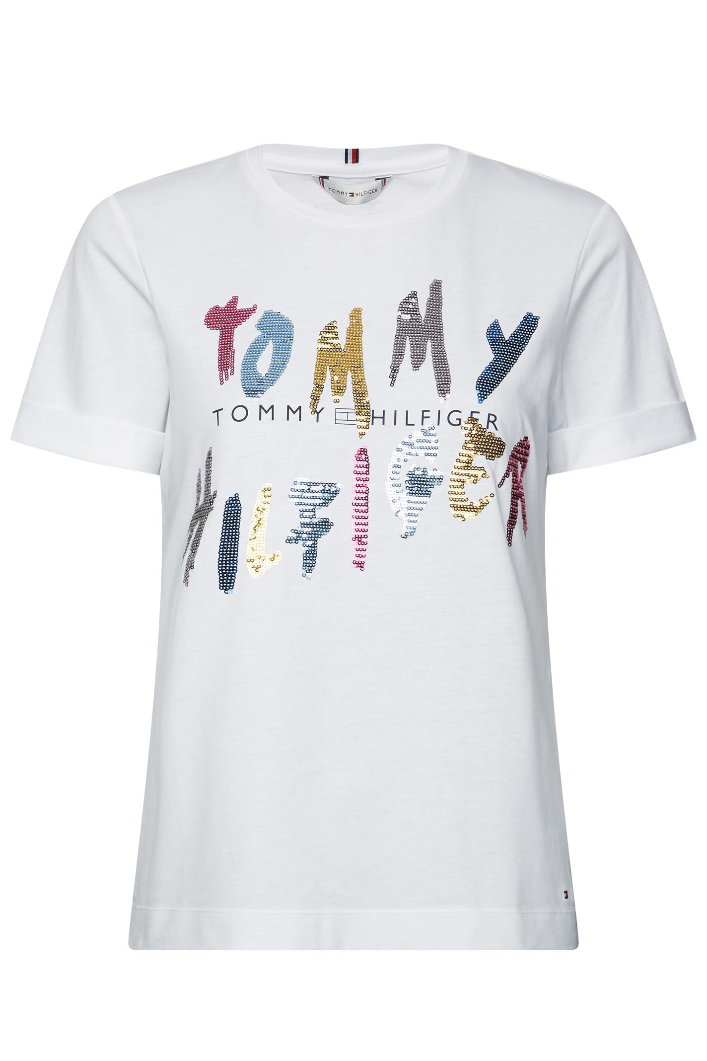 TOMMY HILFIGER ROXY C-NK TEE SS 26671 HVID