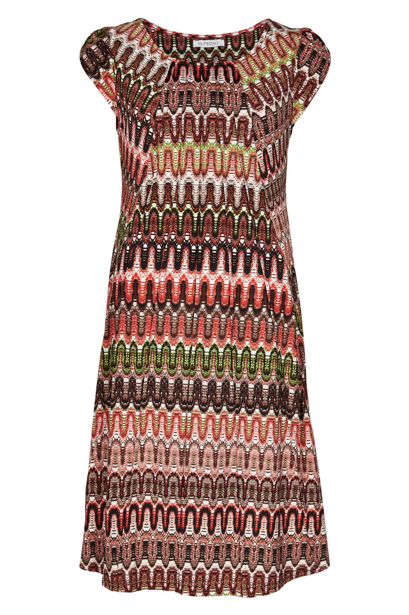 IN FRONT Lucette dress 13903 Burnt desert