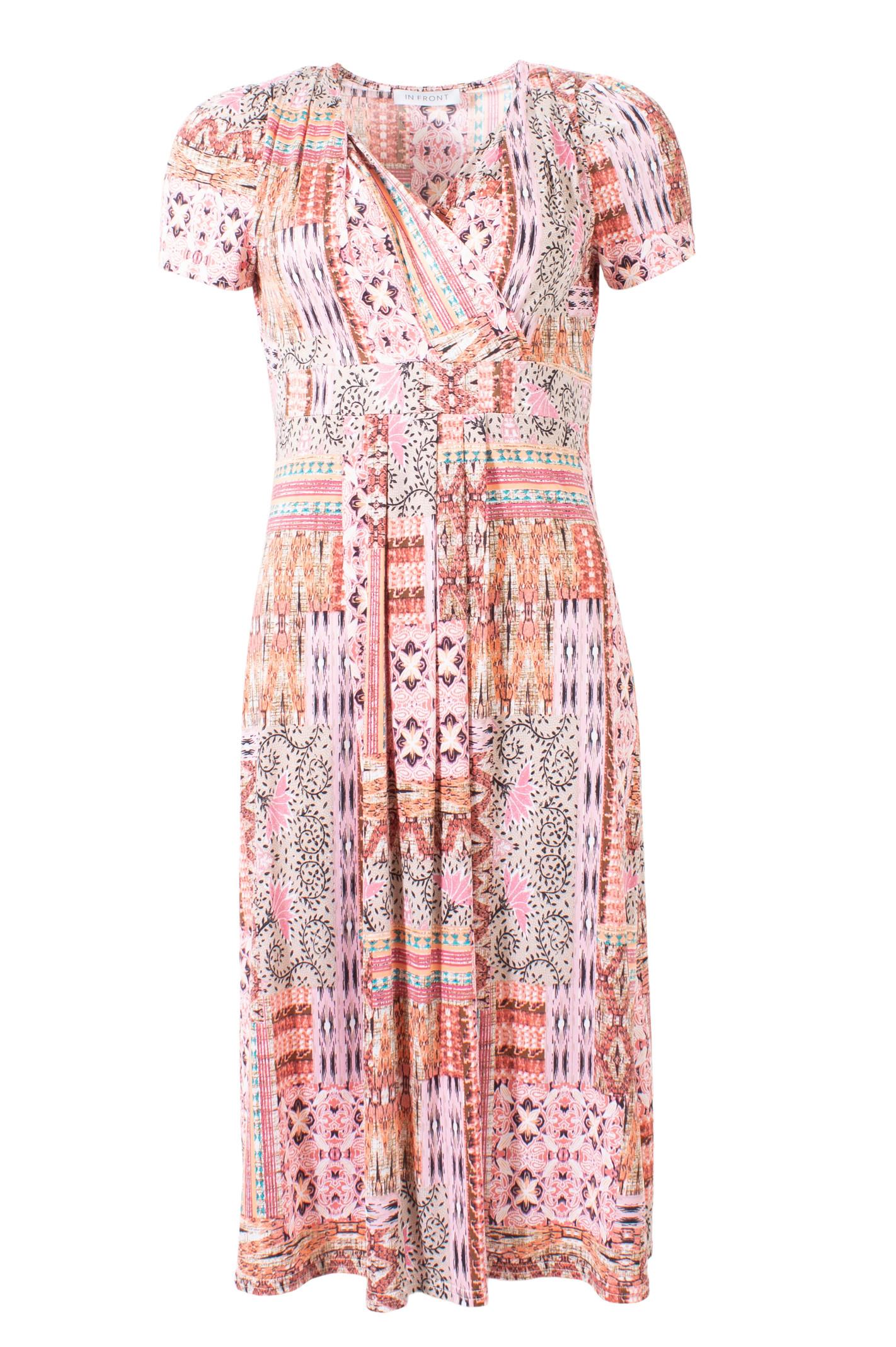 IN FRONT Eternity dress short 13920 Rose