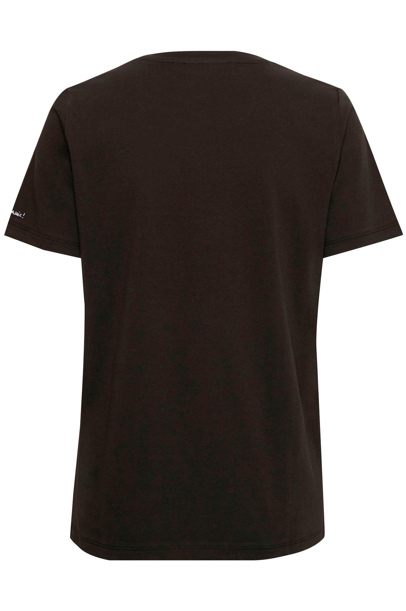 InWear Top Kaila O-neck T-shirt - Sort - Toppe
