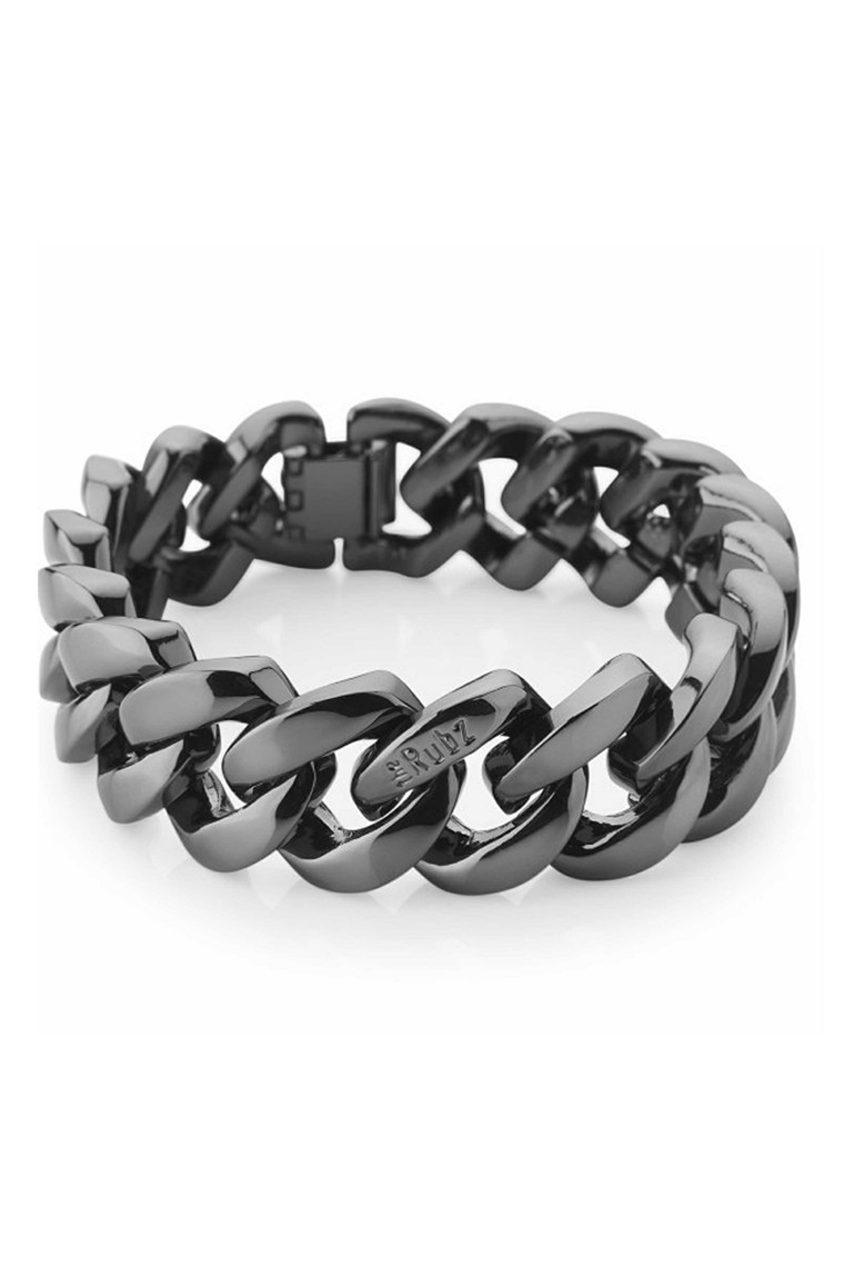 THE RUBZ METAL BRACELET GUN METAL