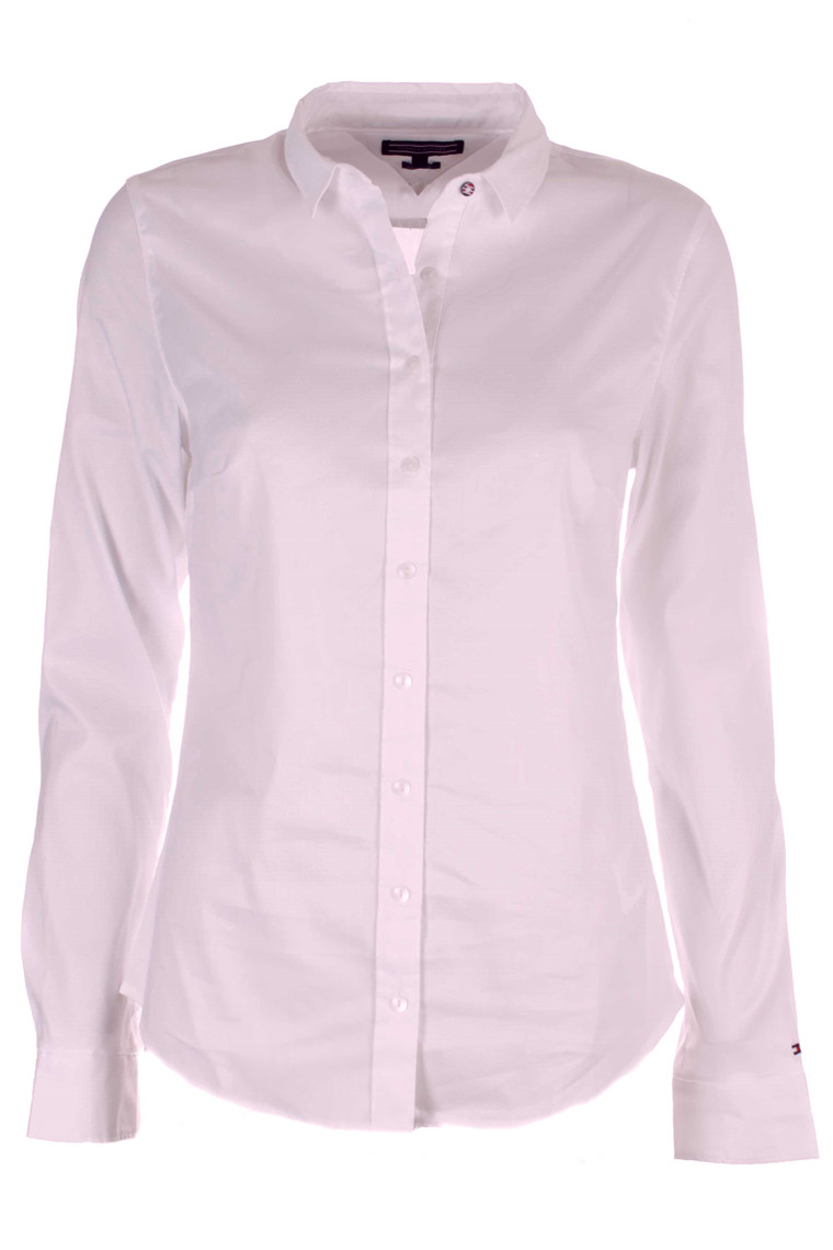 TOMMY HILFIGER AMY STR SHIRT LS W1 ROSA