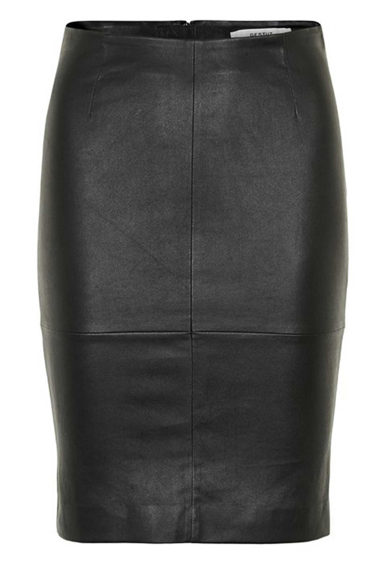 GESTUZ DESMOND SKIRT 10900209 SORT