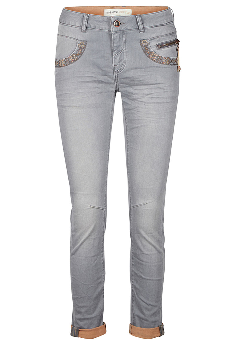 MOS MOSH NAOMI COPPER 117970 GRÅ DENIM