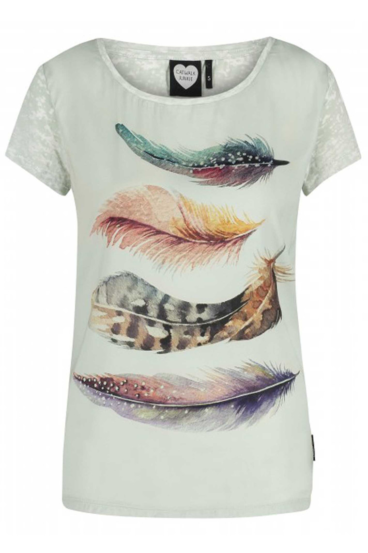 CATWALK JUNKIE TS WATER COLOR MINT