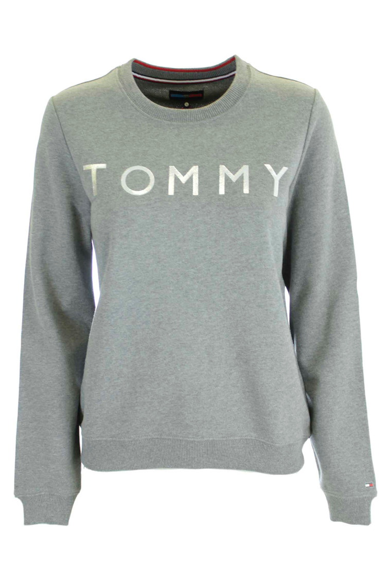 TOMMY HILFIGER TH ATH SWEA THIRT LS GRÅ