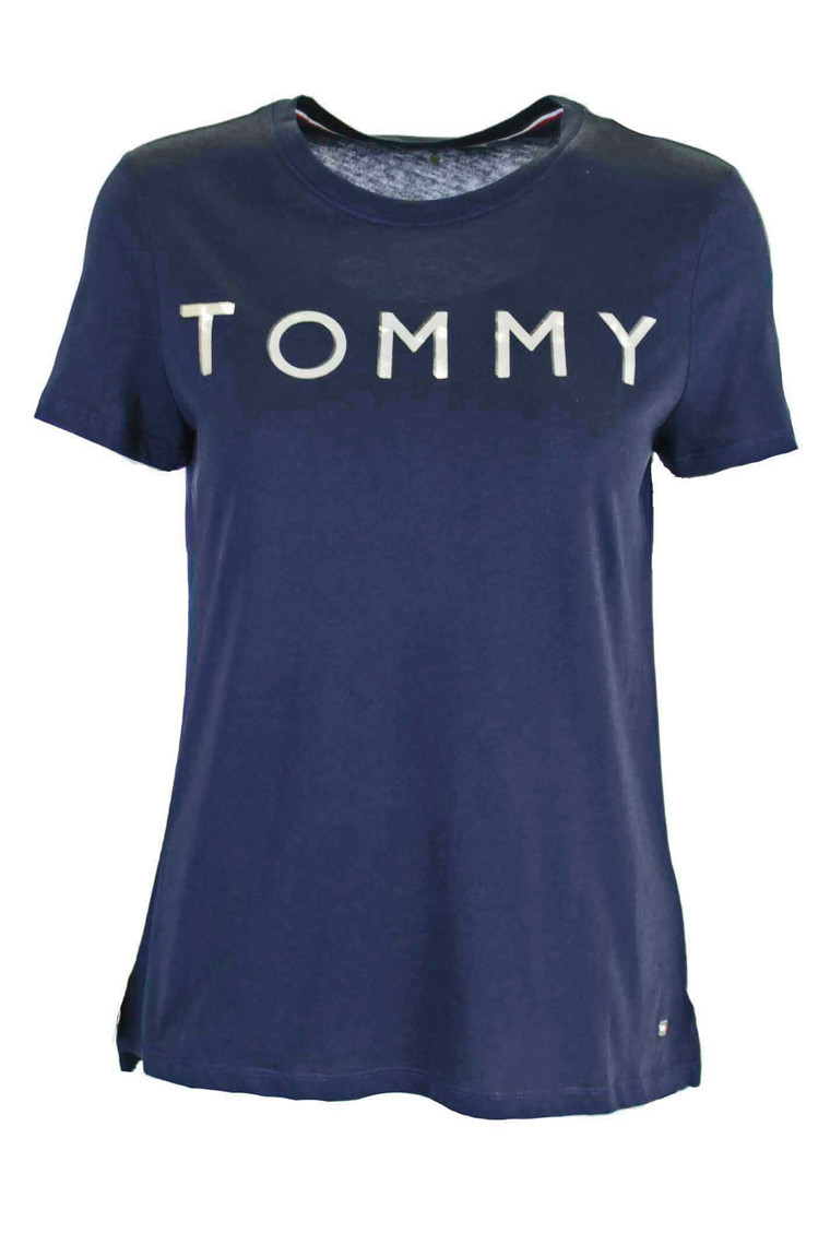 TOMMY HILFIGER TH ATH TOMMY PRINT Navy