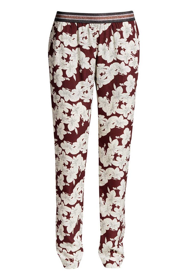 CO'COUTURE FALL FLOWER PANT 71205 BORDEAUX
