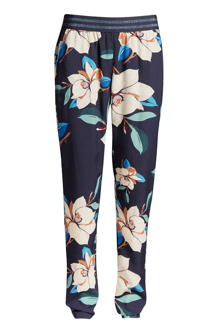 CO'COUTURE PENNY FLOWER PANT 71206 Navy