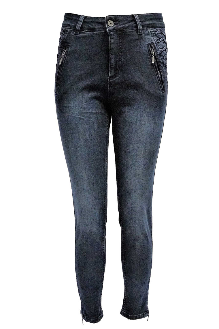 CRO MAGIC FIT ZIP 6272/625 MØRK BLÅ DENIM