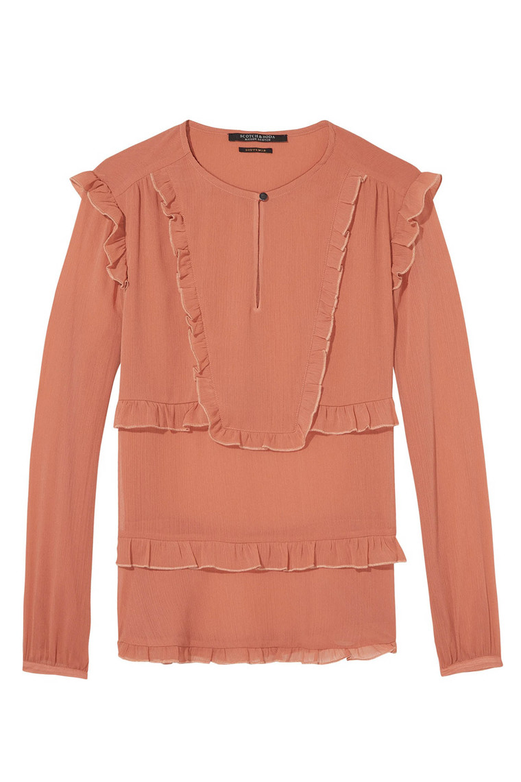 MAISON SCOTCH 141053 MØRK ROSE