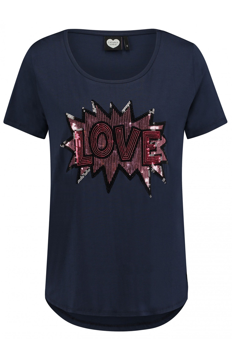 CATWALK JUNKIE TS LOVE POP Navy