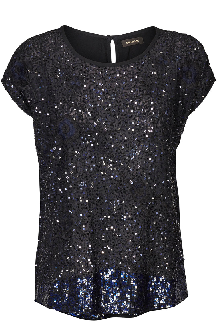 MOS MOSH SHINE SEQUINS 120570 Navy