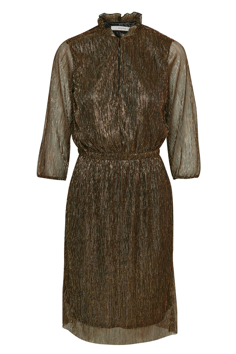 GESTUZ REAGAN DRESS 10901539 COPPER