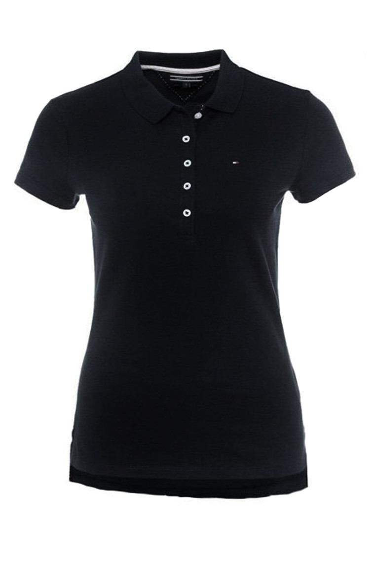TOMMY HILFIGER NEW CHIARA STR PQ POLO SS SORT