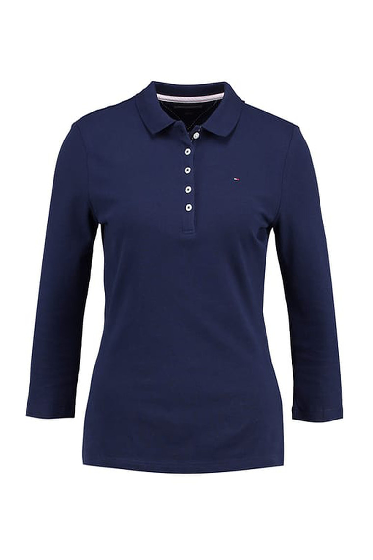 TOMMY HILFIGER NEW CHIARA STR PQ POLO 3/4 Navy