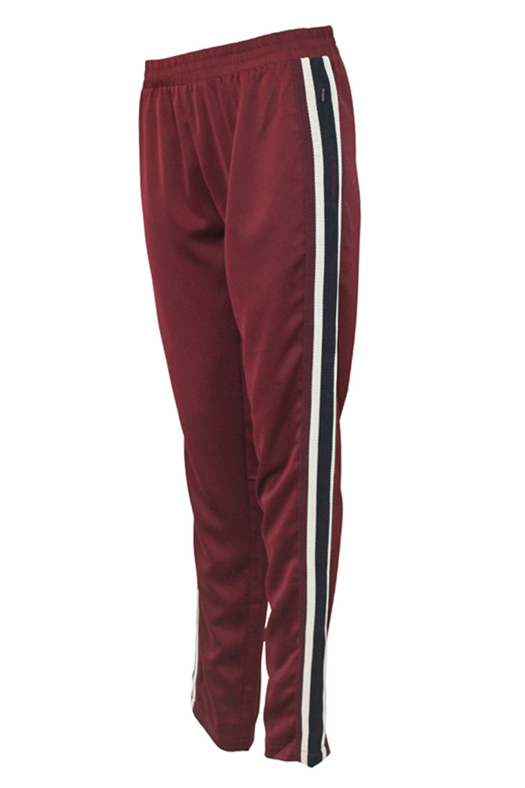 IN FRONT GABRIELLE PANT 12461 CHERRY