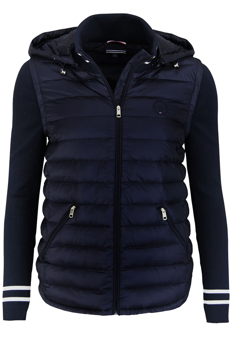 TOMMY HILFIGER ISAAC COMBO DOWN JKT 20571 Navy
