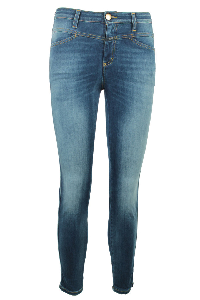 CLOSED SKINNY PUSHER C91231-0D3-W7 BLÅ DENIM