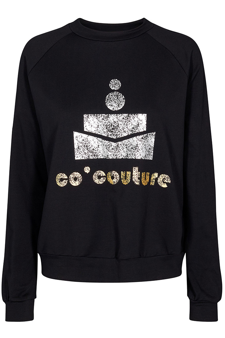 CO'COUTURE COCOUTURE SWEAT 77047 SORT