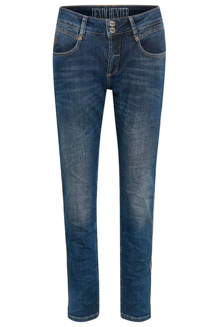 DENIM HUNTER DICTE CURVED 10701591 BLÅ DENIM