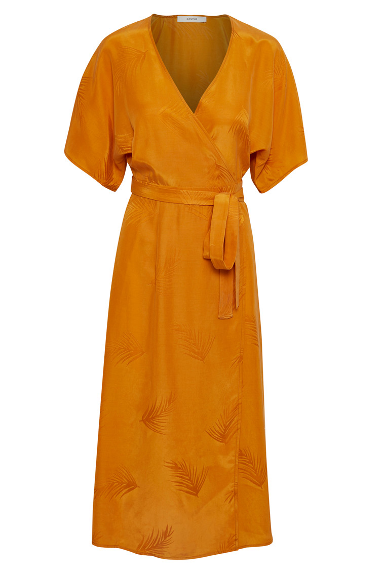 GESTUZ AMI LONG DRESS 10902110 ORANGE
