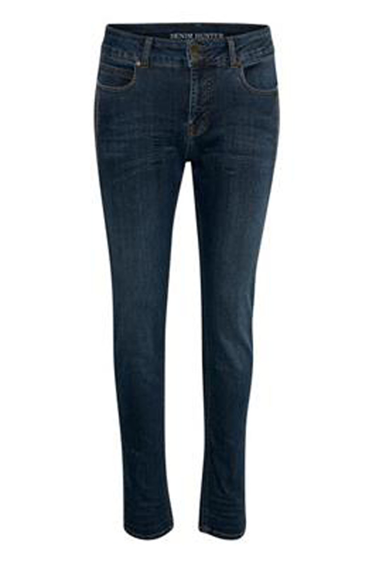 DENIM HUNTER ELLA CURVED 10701850 BLÅ DENIM