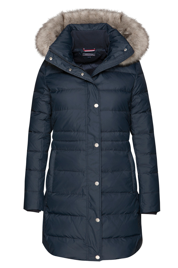 TOMMY HILFIGER NEW TYRA DOWN 23085 Navy