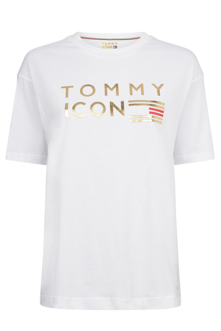 TOMMY HILFIGER ICON NELLIE C-NK 23742 HVID