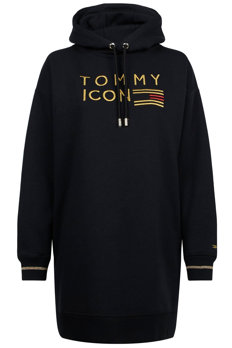 TOMMY HILFIGER ICON NOELLE HOODED 23747 SORT