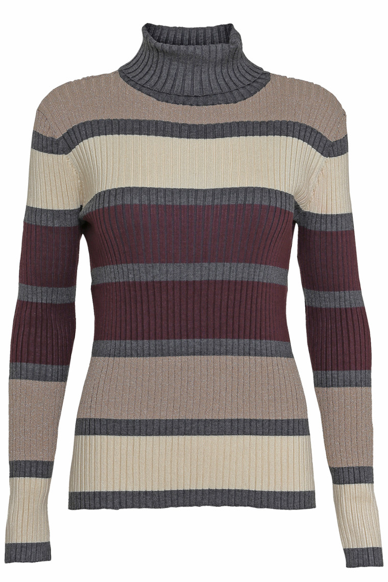 SOYACONCEPT DOLLIE STRIPE 2 GRÅ
