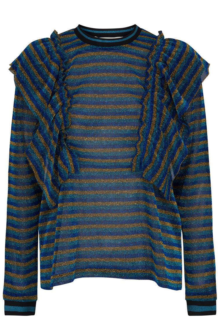 SOFIE SCHNOOR S184220 45R grøn/blå