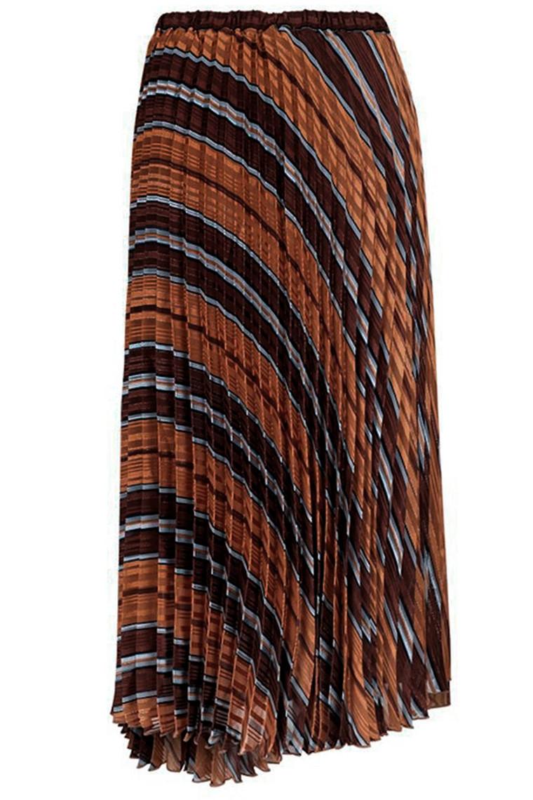 NEO NOIR FRIA LUREX STRIPE 150359 BROWN STONE
