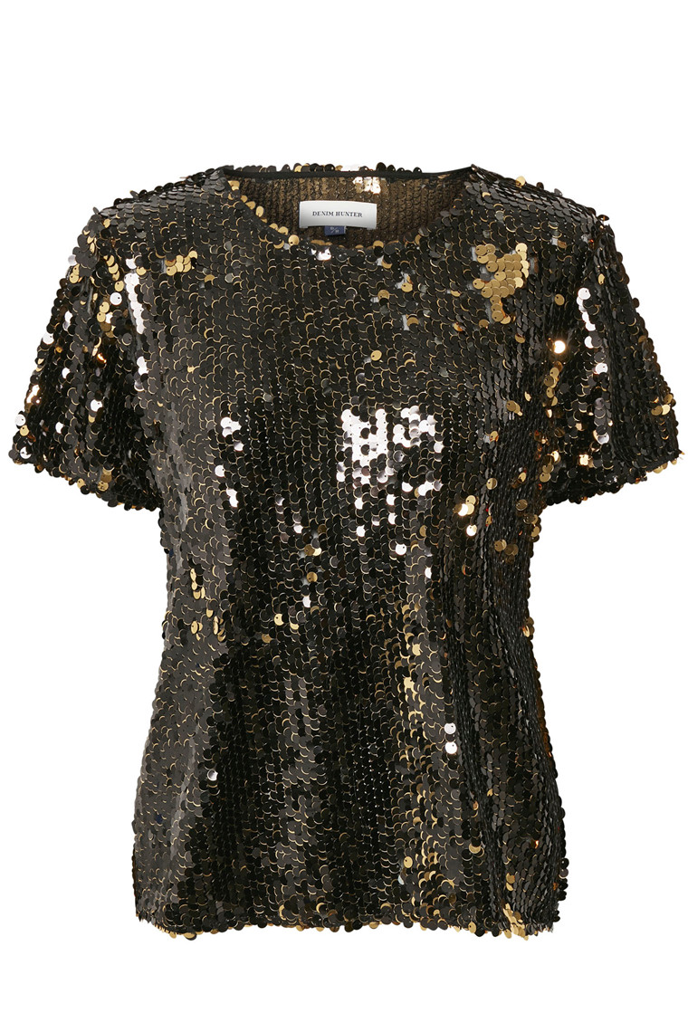 DENIM HUNTER MALIA SEQUIN 10701929 GULD