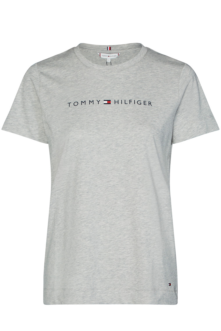 TOMMY HILFIGER TH ESS HILFIGER CREW 25281 Light Grey Melange