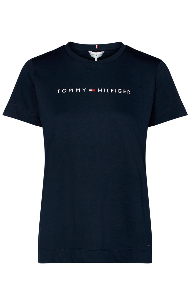 TOMMY HILFIGER TH ESS HILFIGER CREW 25281 Navy