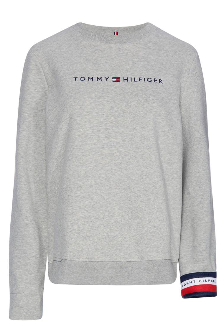 TOMMY HILFIGER CORP HILFIGER C-NK 24517 Light Grey Melange