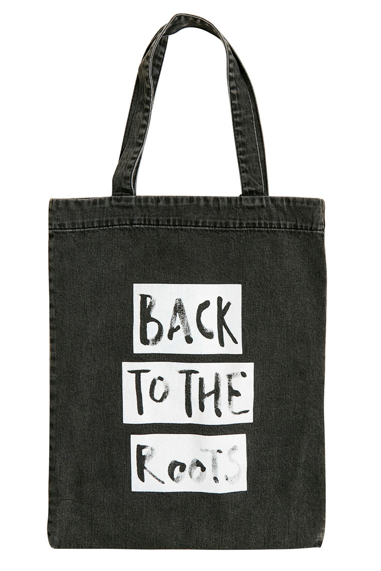 GESTUZ ROOTS TOTE BAG 10903092 SORT