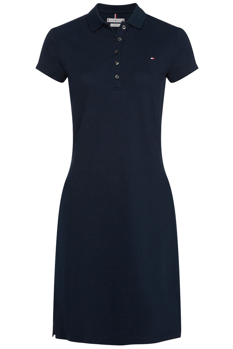 TOMMY HILFIGER HERITAGE SLIM POLO DRESS Navy