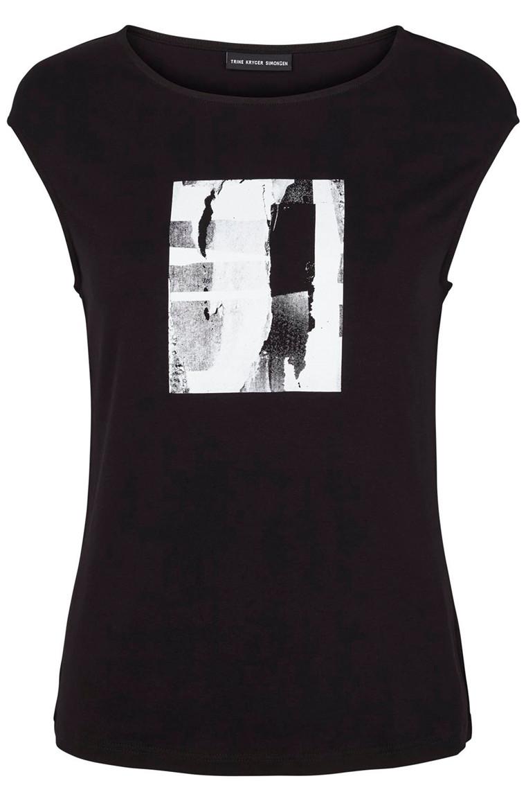 TRINE KRYGER SIMONSEN 1904010 black/multi-grey