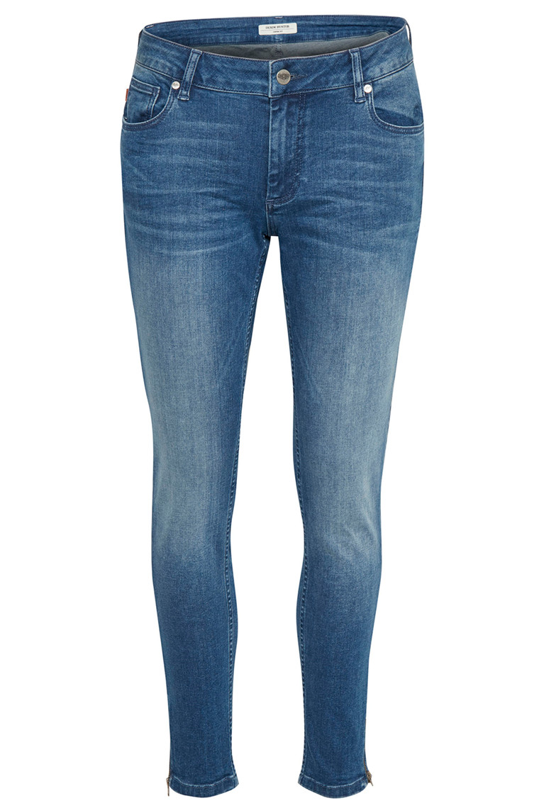 DENIM HUNTER 10701141 Celina zip Custom Blue Wash