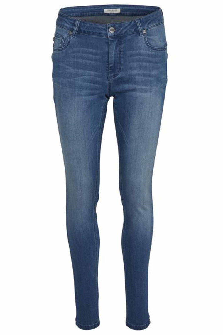 DENIM HUNTER  10701356 Celina long custom Blue Wash