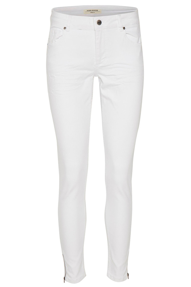 DENIM HUNTER 10701452 Celina White Zip Custom Optical White