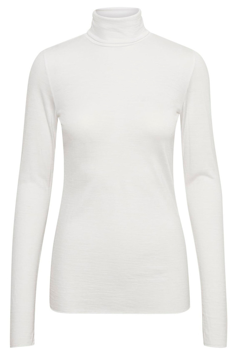 DENIM HUNTER 10702541 THE ROLLNECK OFF WHITE