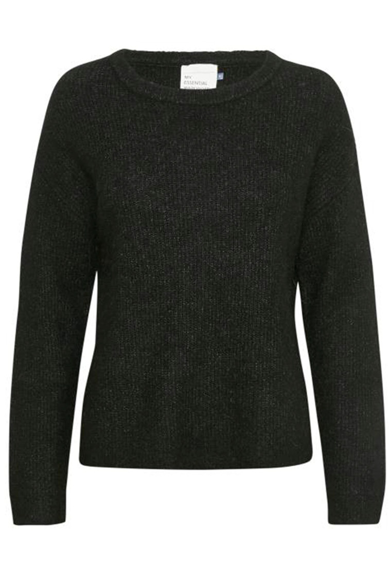 DENIM HUNTER 10702543 THE KNIT PULLOVER Black