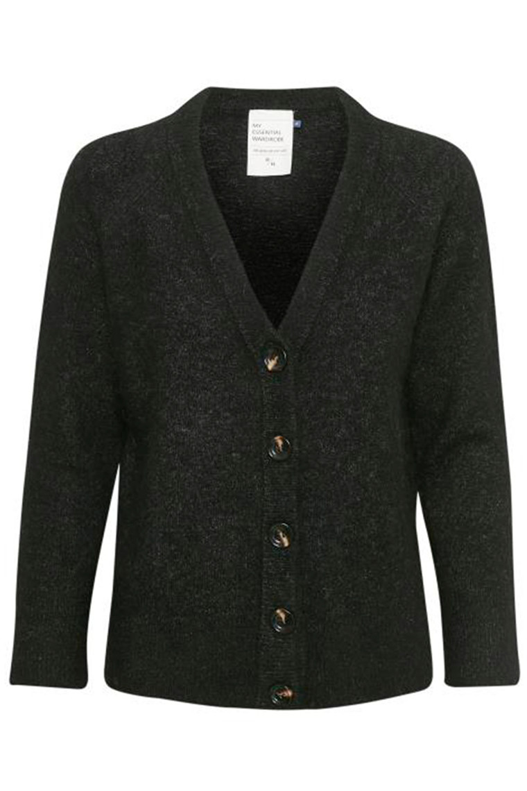 DENIM HUNTER 10702544 THE KNIT CARDIGAN Black