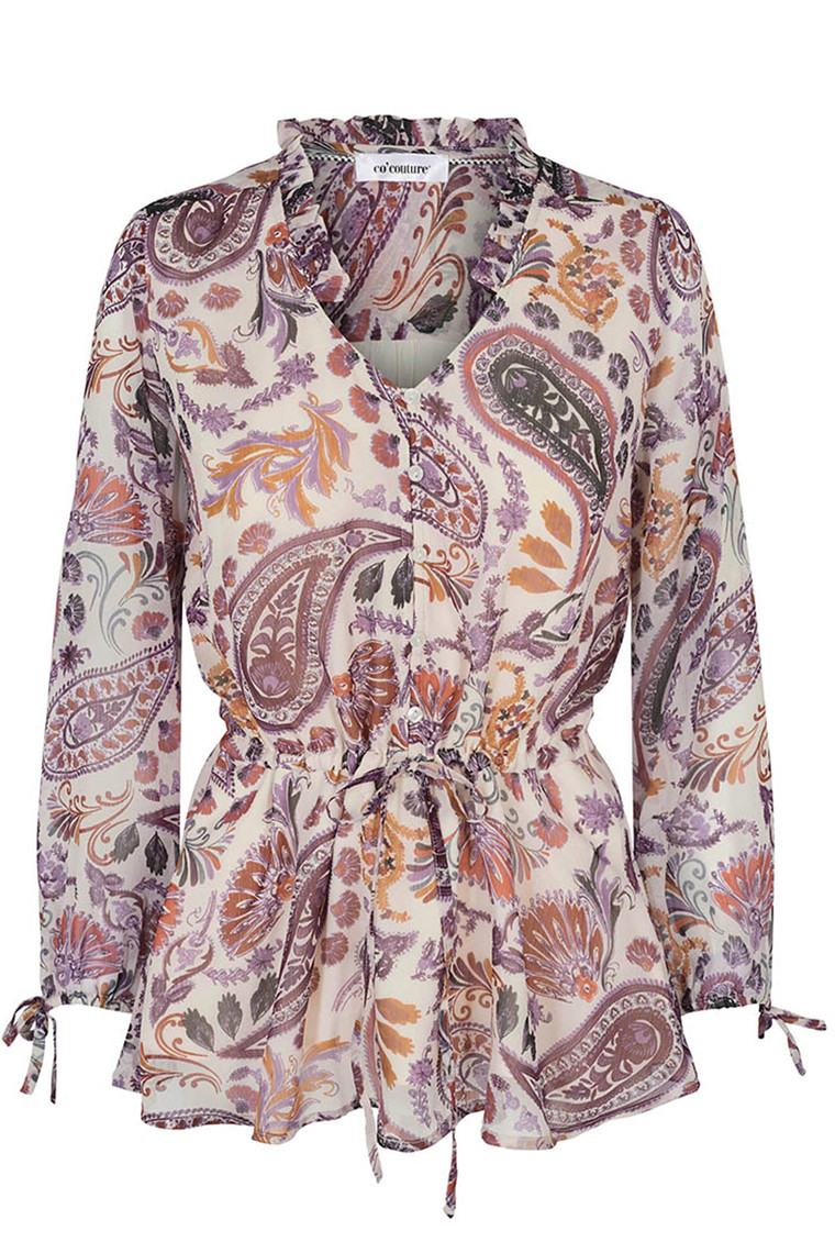 CO'COUTURE ENZEL PAISLEY 75986 OFF WHITE