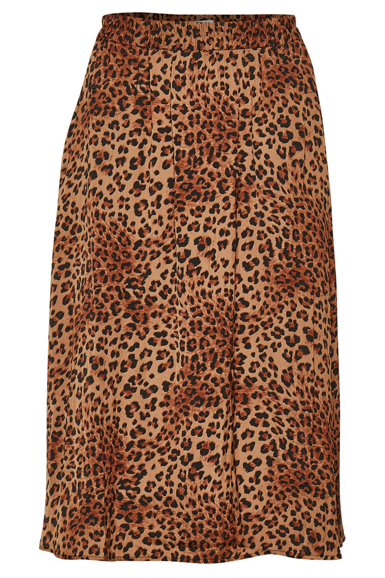 GESTUZ JANEGZ 10903237 Leopard Print, brown.