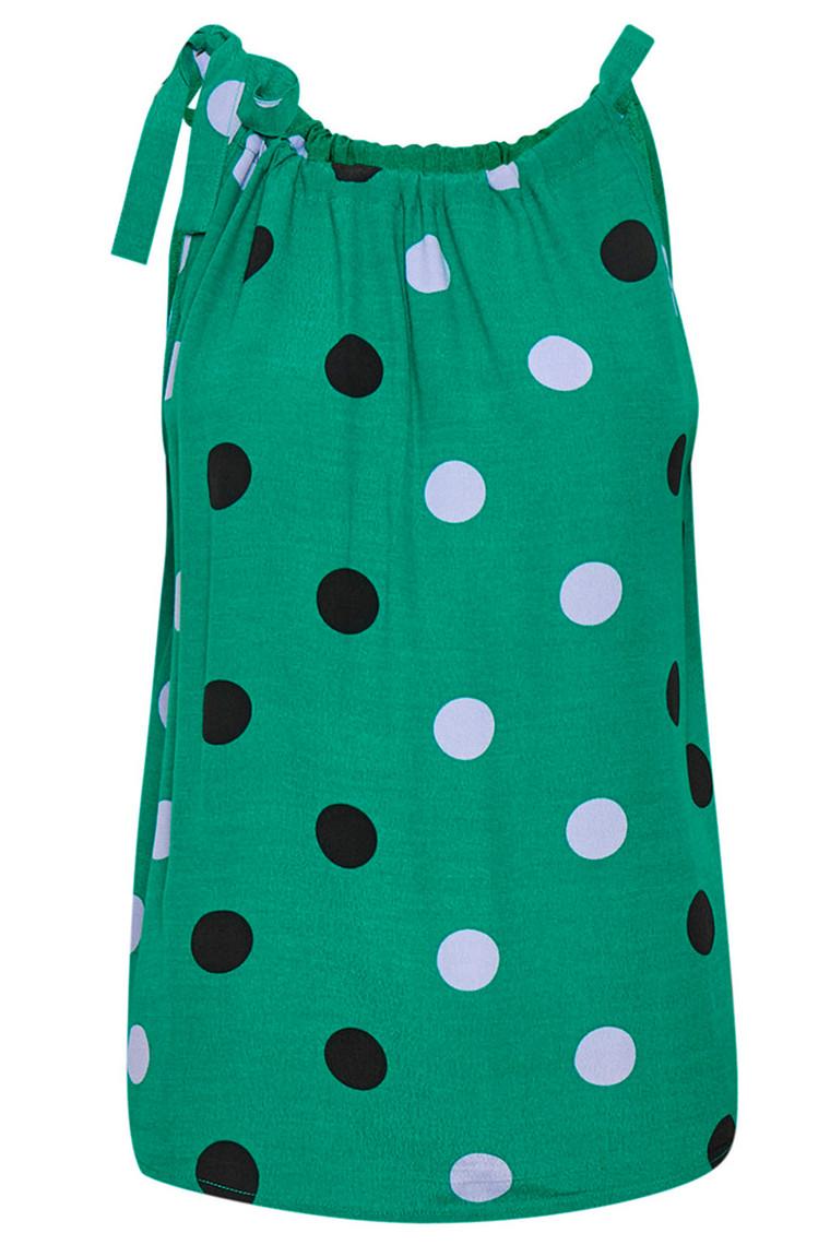 DENIM HUNTER Dotty 10702344 Ultramarine Green Print